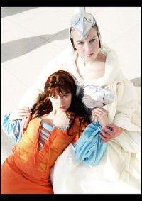 Cosplay-Cover: Weiße Hexe aus Prinzessin Fantaghiro
