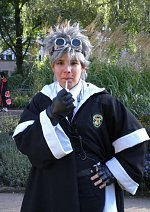 Cosplay-Cover: Madam Hooch (Quidditchversion)