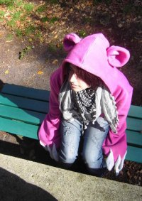 Cosplay-Cover: Pink Gloomy Bear