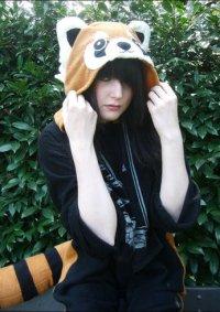 Cosplay-Cover: Giru- Roter Panda Kigurumi