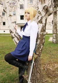 Cosplay-Cover: Saber (Casual Clothes)