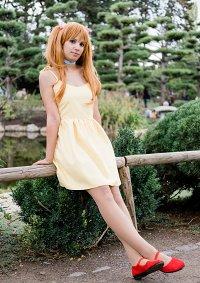 Cosplay-Cover: Asuka Soryu Langley [Yellow Dress]