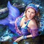 Cosplay: Blue Mermaid
