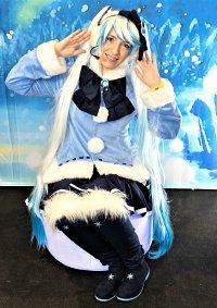 Cosplay-Cover: Snow Miku 2012