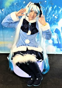 Cosplay-Cover: Snow Miku 2012