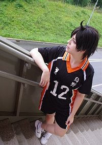 Cosplay-Cover: Yamaguchi Tadashi [Karasuno Dress]