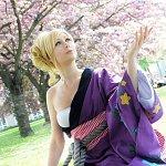 Cosplay: Bishamonten [Past Kimono]