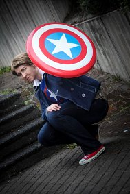 Cosplay-Cover: Steve Rogers - (Avengers Academy)