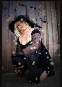 Cosplay-Cover: Naminé - Halloweentownversion
