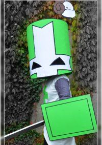 Cosplay-Cover: Green Knight (Castle Crashers)