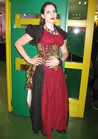 Cosplay-Cover: Red-Steampunk