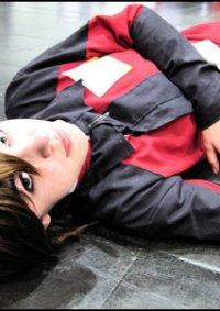 Cosplay-Cover: Kira Yamato - Red ZAFT (Gundam Seed)