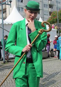 Cosplay-Cover: Der Riddler