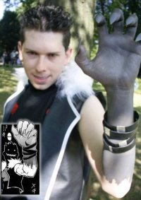 Cosplay-Cover: Greed [mit Ultimate Shield-Klauen]