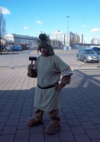 Cosplay-Cover: Gruffi (Disneys Gummibärenbande)