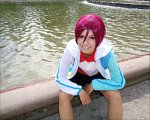 Cosplay-Cover: Rin Matsuoka (Kid Version Swim Club)