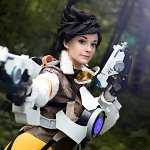 "Cosplay: Lena ""Tracer"" Oxton"