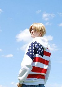 "Cosplay-Cover: Alfred F. Jones (America) - ""FlagFanart"""