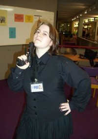 Cosplay-Cover: Special Agent Dana Scully