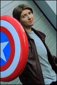 Cosplay-Cover: Steve Rogers - (Civil War)