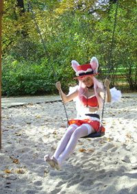Cosplay-Cover: Meroko~red dress