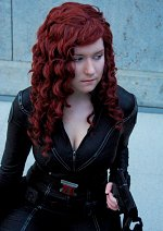 Cosplay-Cover: Black Widow ↔ The Avengers (Concept Art)