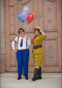 "Cosplay-Cover: Carl Fredricksen - "" Oben"""
