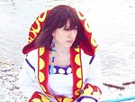 Cosplay-Cover: Yuna Braska (White Mage)