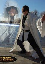 Cosplay-Cover: Val Ora (Grey Jedi)