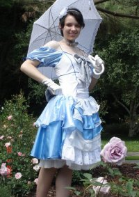 Cosplay-Cover: Rhode Kamelot (Blue-White Ball Dress (Chapter 157)