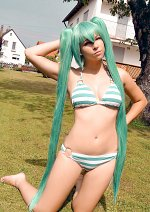Cosplay-Cover: Hatsune Miku [Beach]
