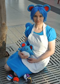 Cosplay-Cover: Marill (Gijinka)
