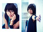 Cosplay-Cover: Black Wii Tan
