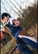 Cosplay-Cover: Korra (Winteroutfit)
