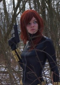 Cosplay-Cover: Black Widow