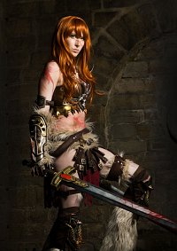 Cosplay-Cover: Female Barbarian