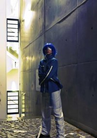 Cosplay-Cover: Akito/Agito (Mangaversion blue)