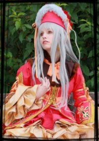 Cosplay-Cover: Myoubi - Red dress