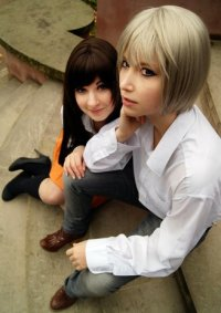 Cosplay-Cover: Tomoe (Schuluniform)