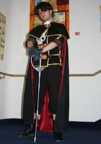 Cosplay-Cover: Captain Harlock