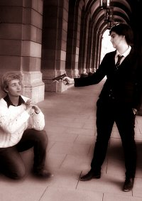 Cosplay-Cover: Jim Moriarty