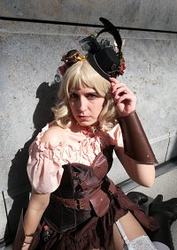 Cosplay-Cover: Emilia Smith [Steampunk]