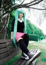 Cosplay-Cover: Hatsune Miku [Rollin girl]