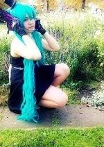 Cosplay-Cover: Hatsune Miku (Magnet)