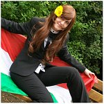 Cosplay-Cover: Hungary - Elizabeta Héderváry [Suit Version]