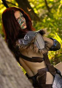 Cosplay-Cover: Aela the Huntress