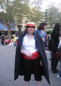 Cosplay-Cover: Roter Shanks