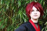 """Cosplay-Cover: Akasuna no Sasori """"kimono"""" version"""