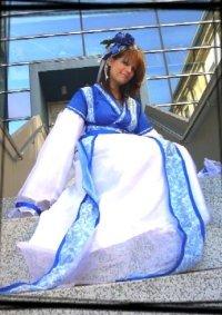 Cosplay-Cover: Blue Kimono