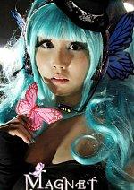 Cosplay-Cover: Hatsune Miku [Magnet]